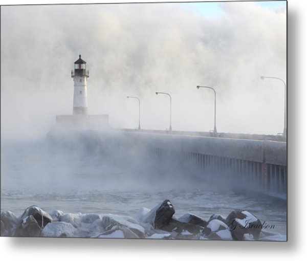 Sea Smoke Metal Print