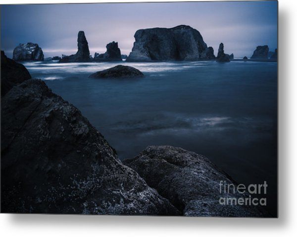 Sea Stack Galloree Metal Print
