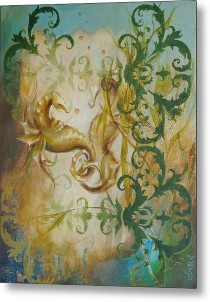 Seahorse Dream 2 Metal Print