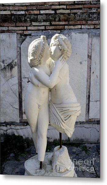 Sealed With A Kiss Metal Print