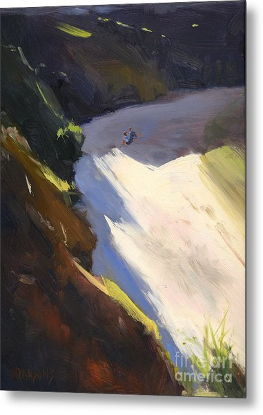 Seascape Drama After Colley Whisson Metal Print