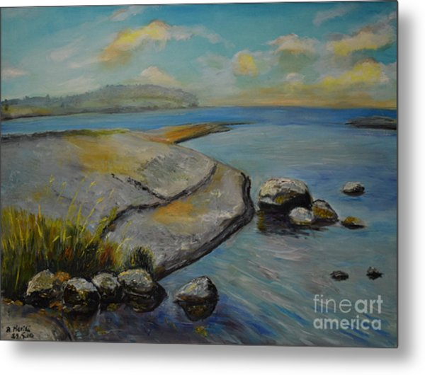 Seascape From Hamina 1 Metal Print