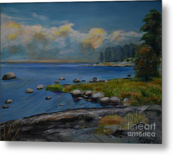 Seascape From Hamina 2 Metal Print