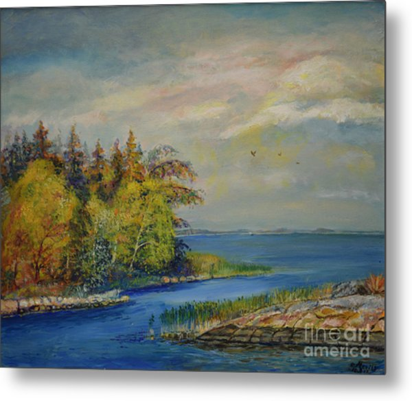 Seascape From Hamina 3 Metal Print