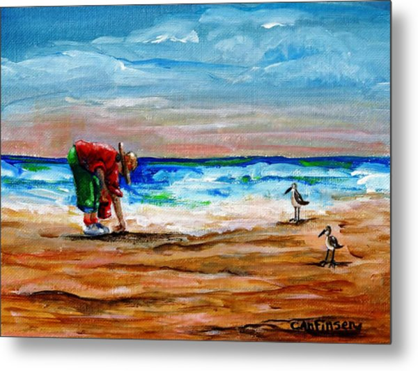 Seashells By The Seashore Metal Print