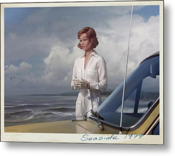Seaside 1974 Metal Print