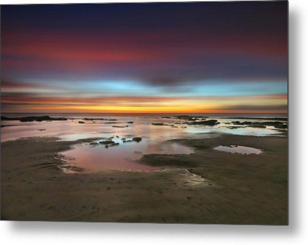 Seaside Reef Sunset 14 Metal Print