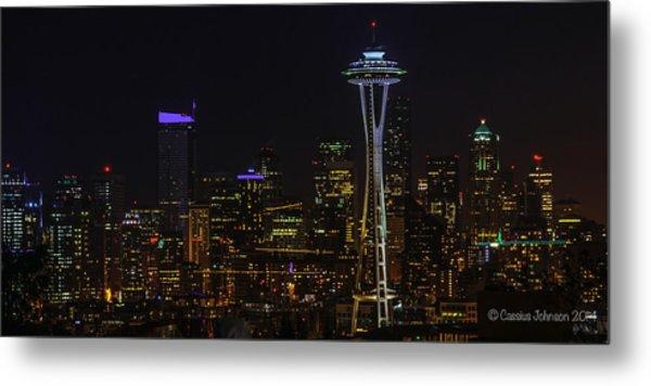 Seattle Skyline 1 Metal Print