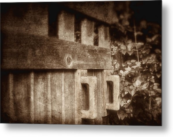Secluded Garden Metal Print