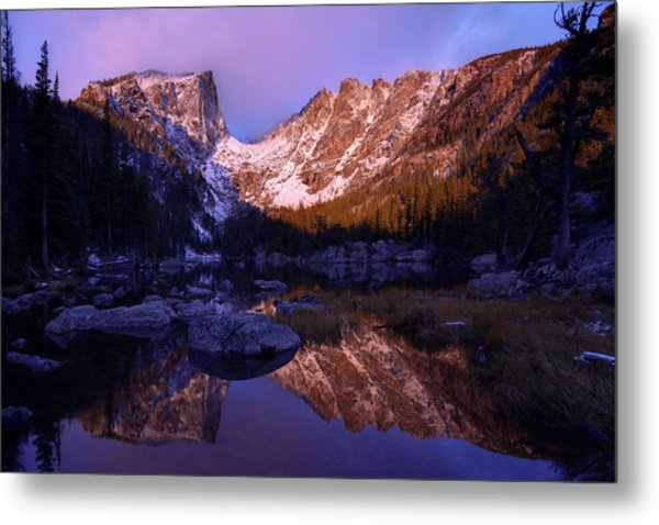 Second Light Metal Print