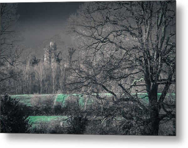 Secret Castle Metal Print