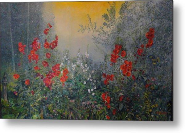 Secret Garden 110x180 Cm Metal Print