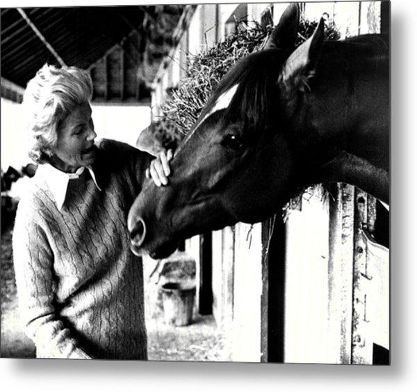 Secretariat Vintage Horse Racing #20 Metal Print
