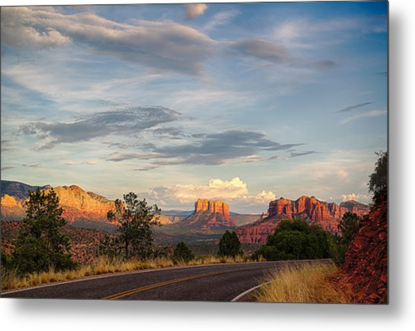 Sedona Arizona Allure Of The Red Rocks - American Desert Southwest Metal Print