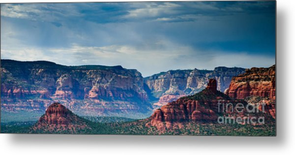 Sedona Arizona Panorama Metal Print