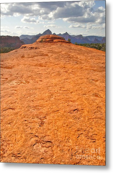 Sedona Arizona Submarine Rock Metal Print by Gregory Dyer