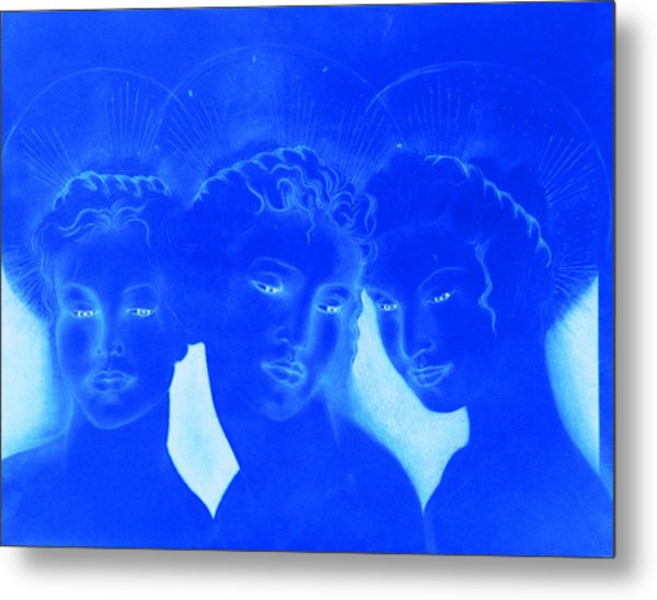 See Love Hear Love Speak Love Metal Print