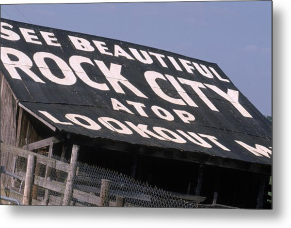 See Rock City Metal Print