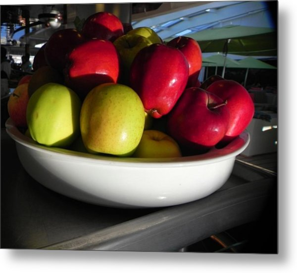 Seeds From The Earth Metal Print