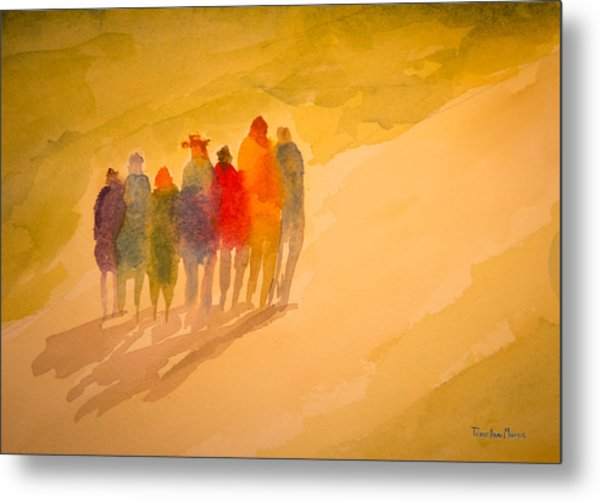 Seekers I Metal Print