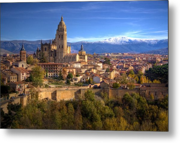 Segovia From The Alcazar Metal Print