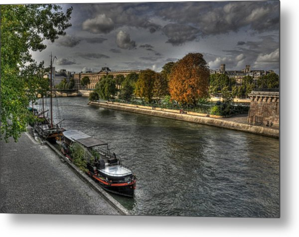 Seine Study Number One Metal Print
