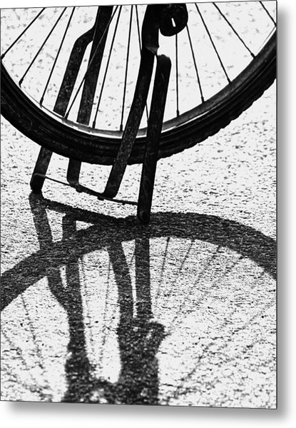 Semi-circles Metal Print