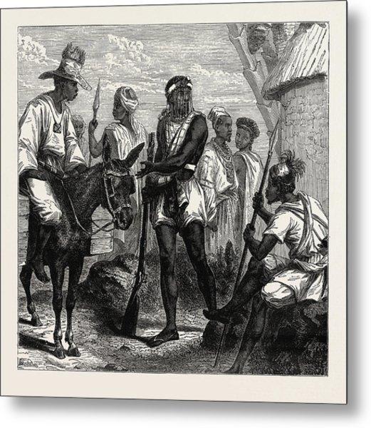Senegambian People. As A Political Unit Metal Print