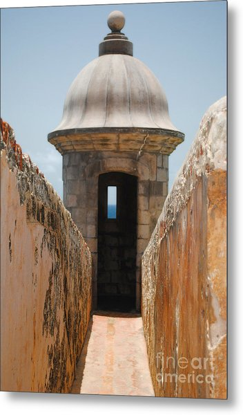 Sentinel Tower Metal Print
