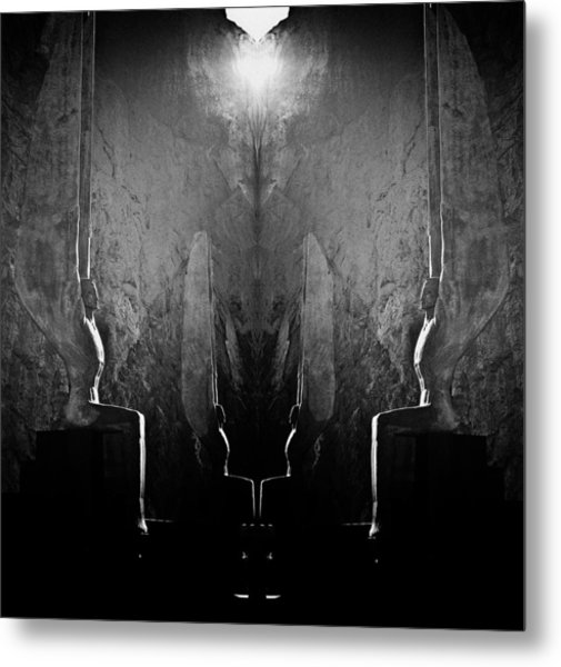 Sentries At Madre Vooh Metal Print
