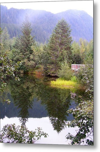 September At The Mendenhall Glacier. Metal Print