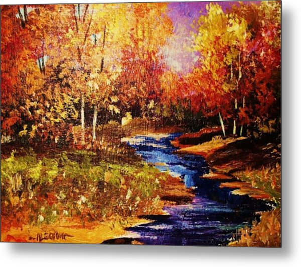 The Brilliance Of Autumn Metal Print