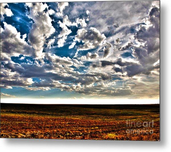 Serene Skies Metal Print by Christian Jansen