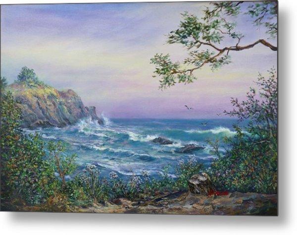Serenity Seascape  Metal Print