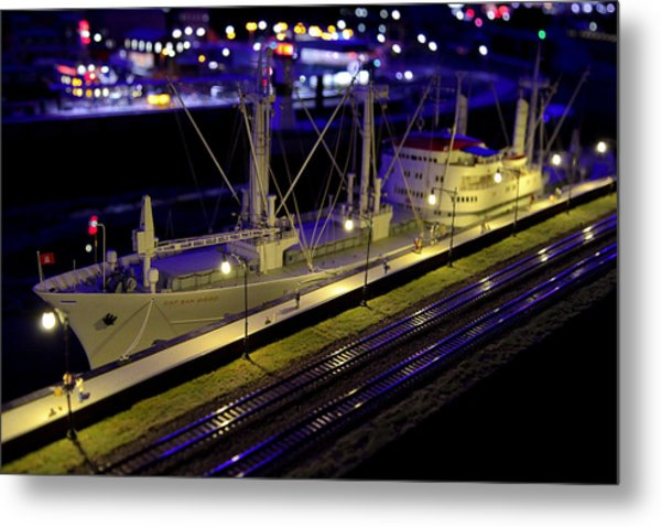 Setting Sail Metal Print