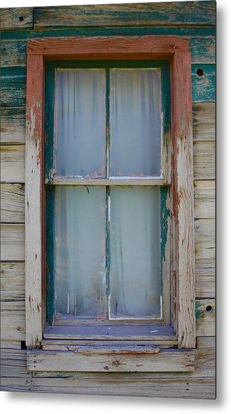 Settler's Window Metal Print