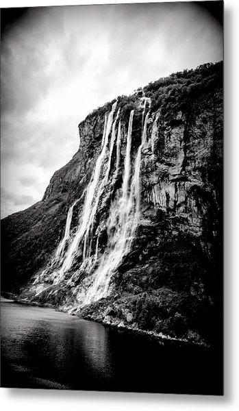 Seven Sisters Waterfall Metal Print