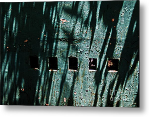 Sun-shaded Walls Metal Print