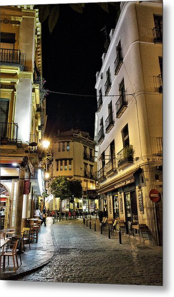 Seville Nights Metal Print
