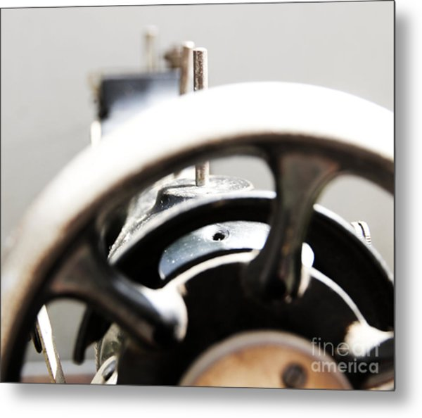 Sewing Machine 3 Metal Print