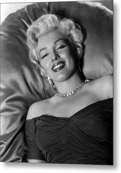 Sexy Marilyn Monroe Metal Print