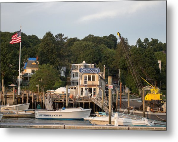 Seymours Northport New York Metal Print