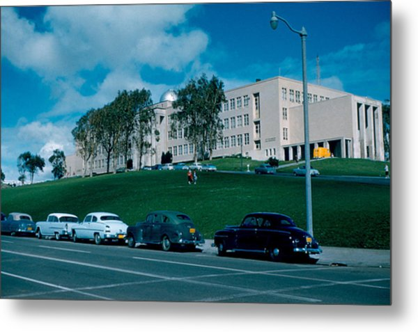 Sf City College 1956  2 Metal Print by Cumberland Warden