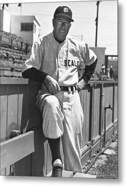 Sf Seals Manager Lefty O'doul Metal Print
