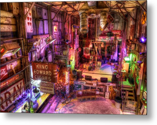 Shackup Inn Stage Metal Print