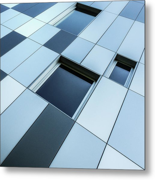 Shades Of Blue Metal Print by Luc Vangindertael (lagrange)
