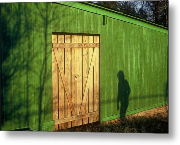 Shadow Man Metal Print