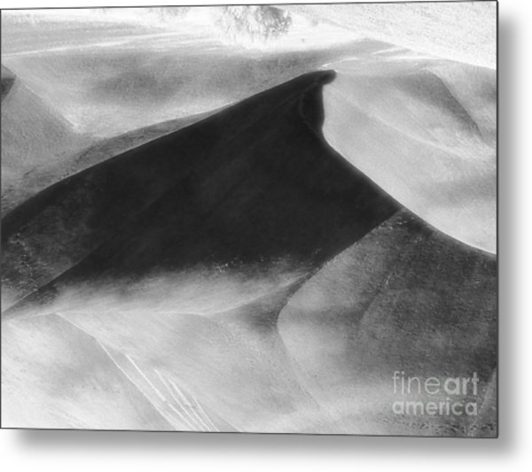 Shadow On The Land Metal Print