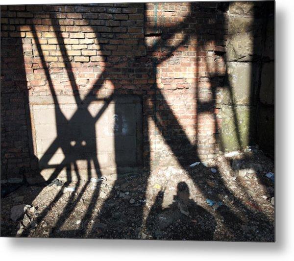 Shadowcat Metal Print