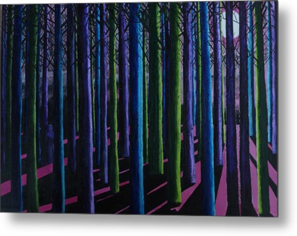 Shadows And Moonlight Metal Print